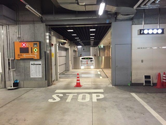 【道順4】ご利用駐車場の写真です。「akippaで予約している」事を係員にお伝えください。その際、係員から「引換券」をお渡しいたします。
