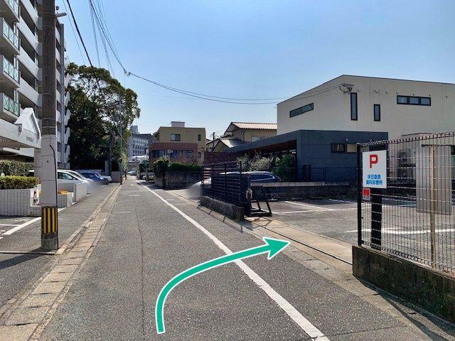 筑紫歯科医師会駐車場
