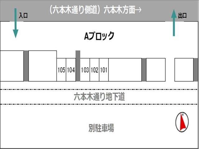 バイク区画区画図