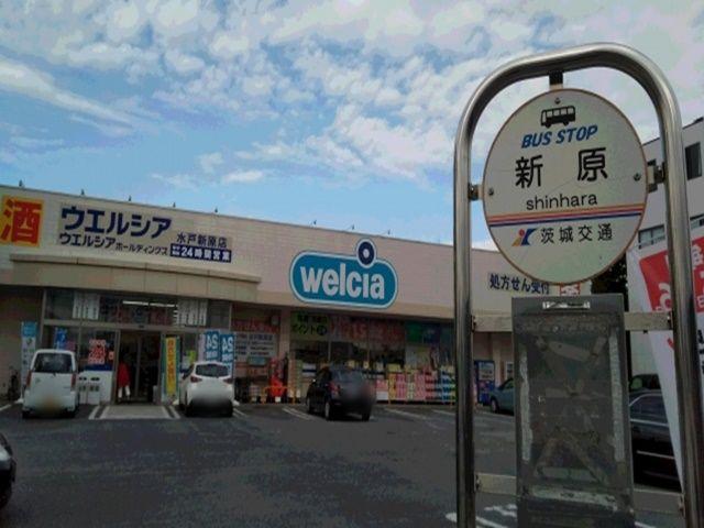 通り沿いには茨城大学行きバス停があります。