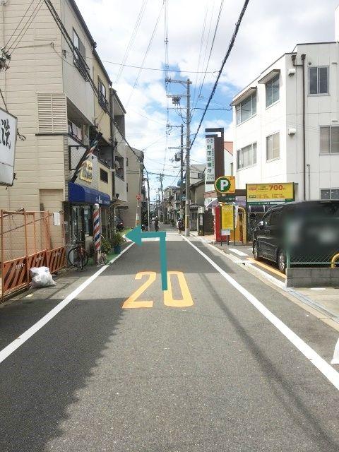 【道順3】野田診療所の角を左折してください