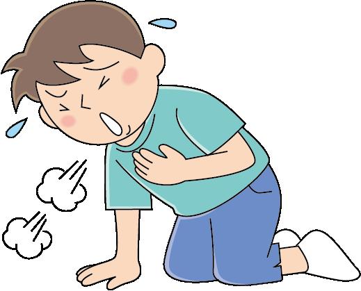 ぜん息発作の症状