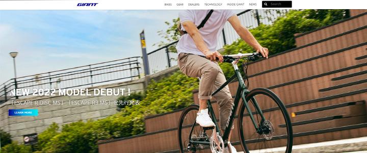 GIANT公式サイト