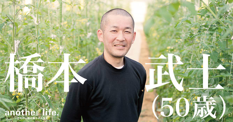 橋本 武士さん/ミニトマト農園オーナー