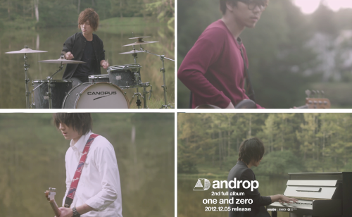 "2nd full album ""one and zero"" spot"