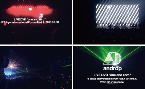 "LIVE DVD ""one and zero"" @Tokyo International Forum Hall A 2013.03.30 Teaser spot"