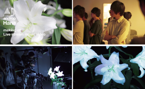 making of androp Hana music video