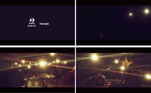 androp 「Hanabi (studio live)」 from new album『cocoon』