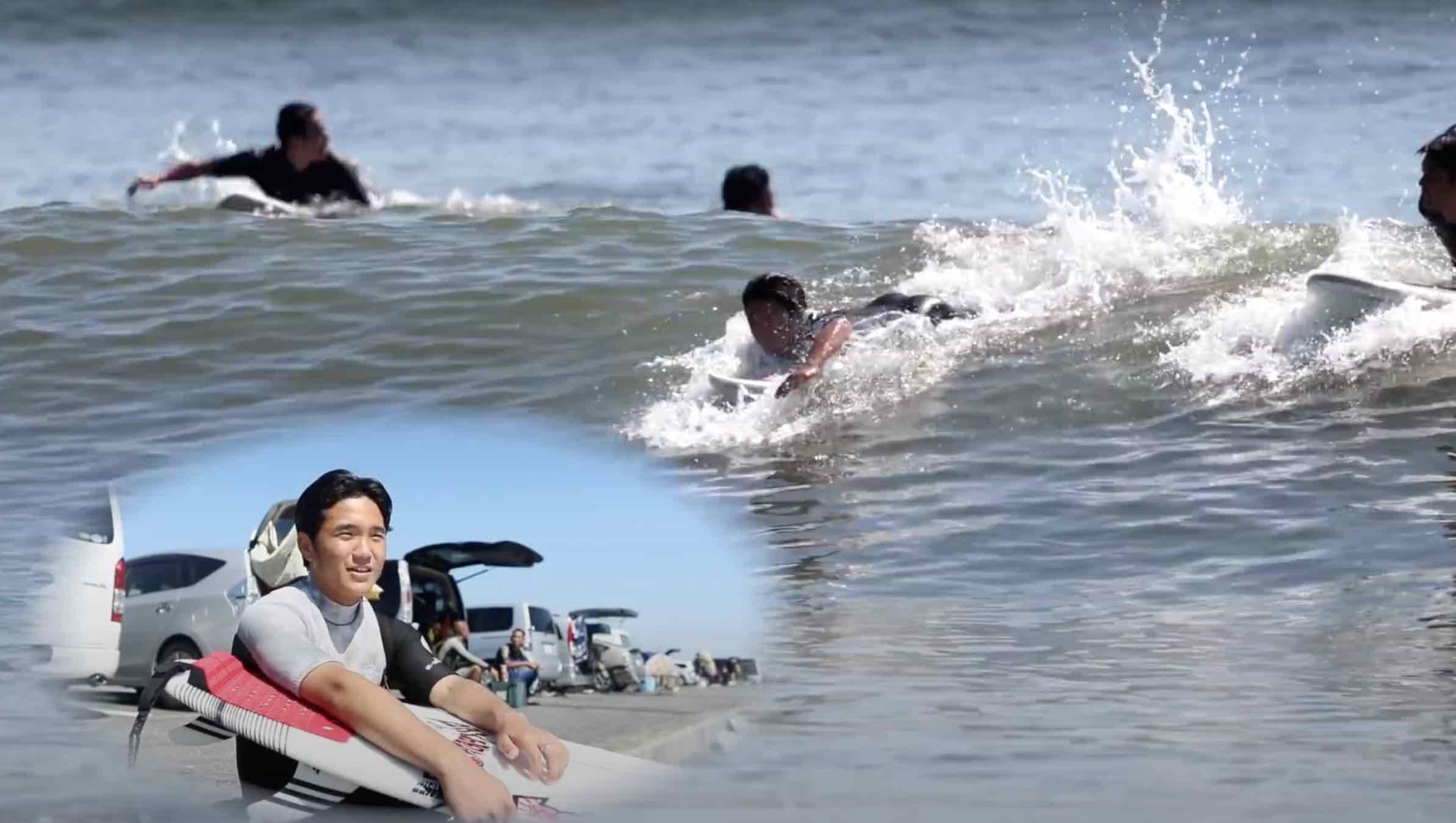 【How to】これを知ればもっと波をキャッチできる! 一番速いパドル方法を村田嵐が検証!