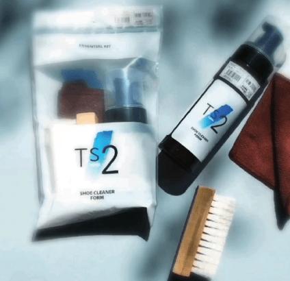 スニーカー洗浄液「Ts2」は水を使わず泡の力で隅々までキレイにするプロ使用!