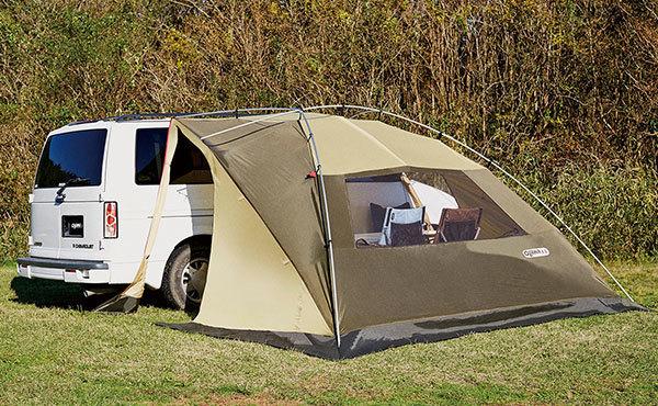 カーサイドタープでお手軽で楽しいキャンプを!おすすめ6選!