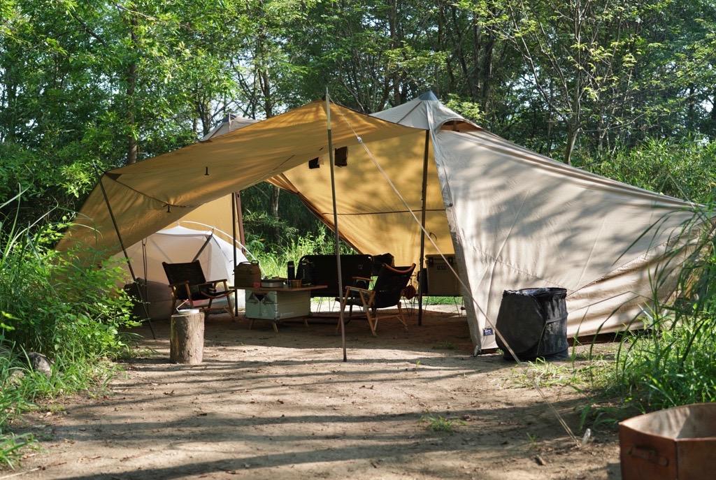 ゼインアーツのシェルター ギギ2をファミリーキャンプで使ってわかったこと