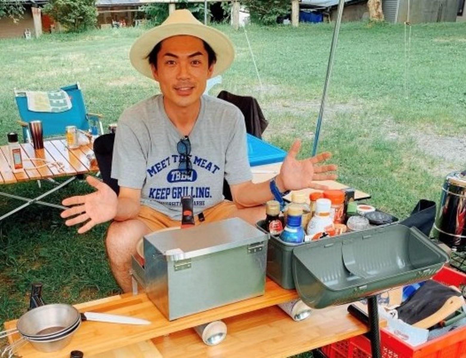 【お願い!たけだバーベキュー】第9弾「たけださんの愛用キャンプ道具とキッチン周りが見たい!」