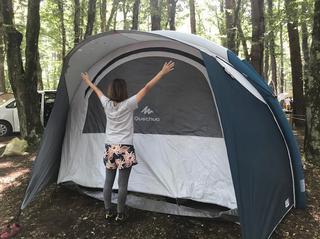 テントの設営が神的に楽すぎる! デカトロンQUECHUA (ケシュア)の「エアーテント AIR SECONDS FAM5.2 XL」を張ってみた