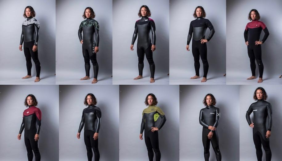 進化した最新ウェットスーツ厳選10ブランド『秋冬オッシュマンズ オーダーフェア』開催