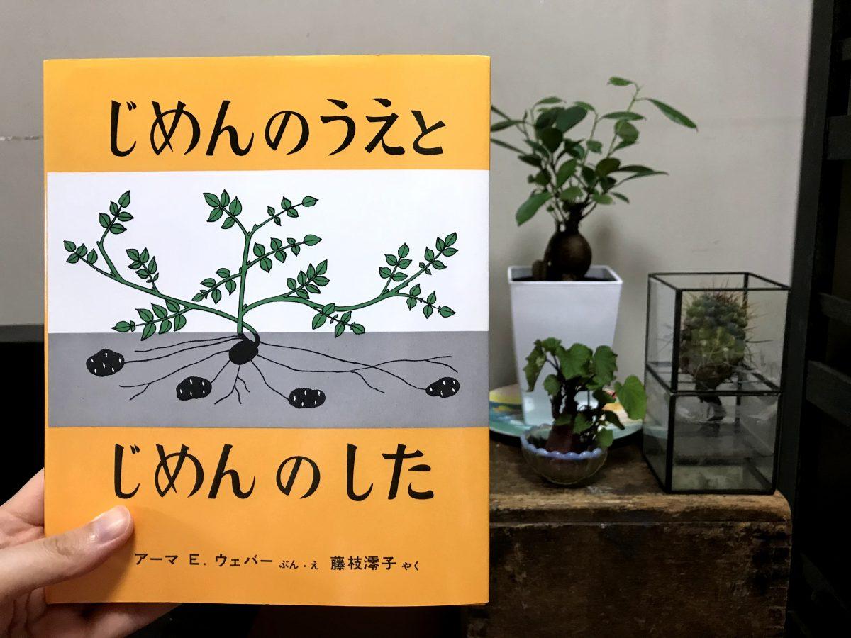 モデル仲川希良の「絵本とわたしとアウトドア」#04 じめんのうえと じめんのした