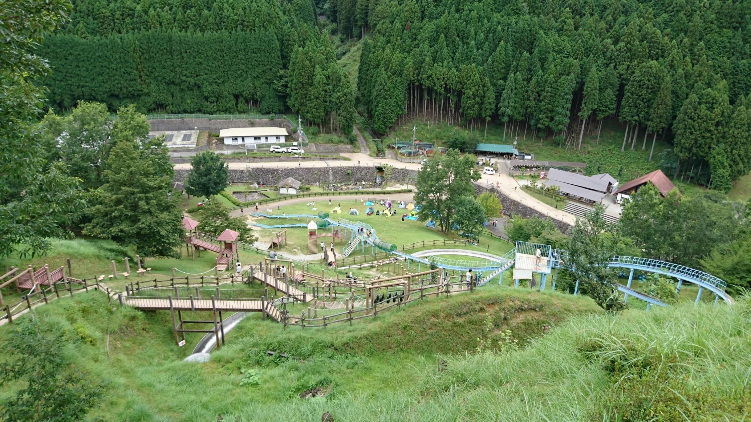 ボブスレーとアスレチックがあるおすすめの奈良県キャンプ場!