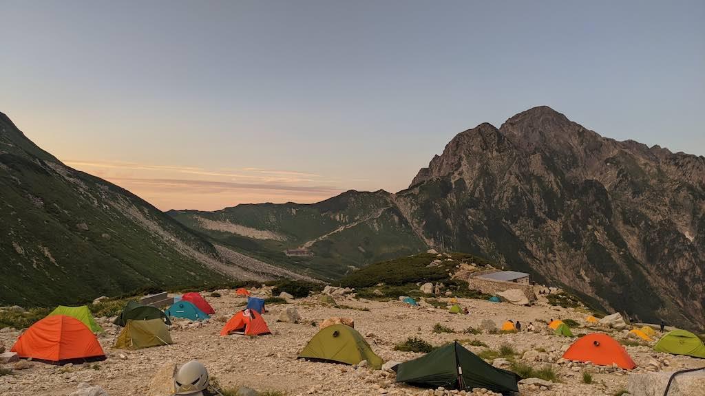 絶景の剣岳!2泊3日テント泊山行写真レポート