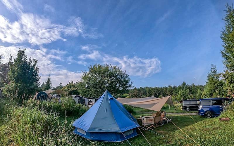 そのままの自然を、そのまま楽しめる「無印良品カンパーニャ嬬恋キャンプ場」