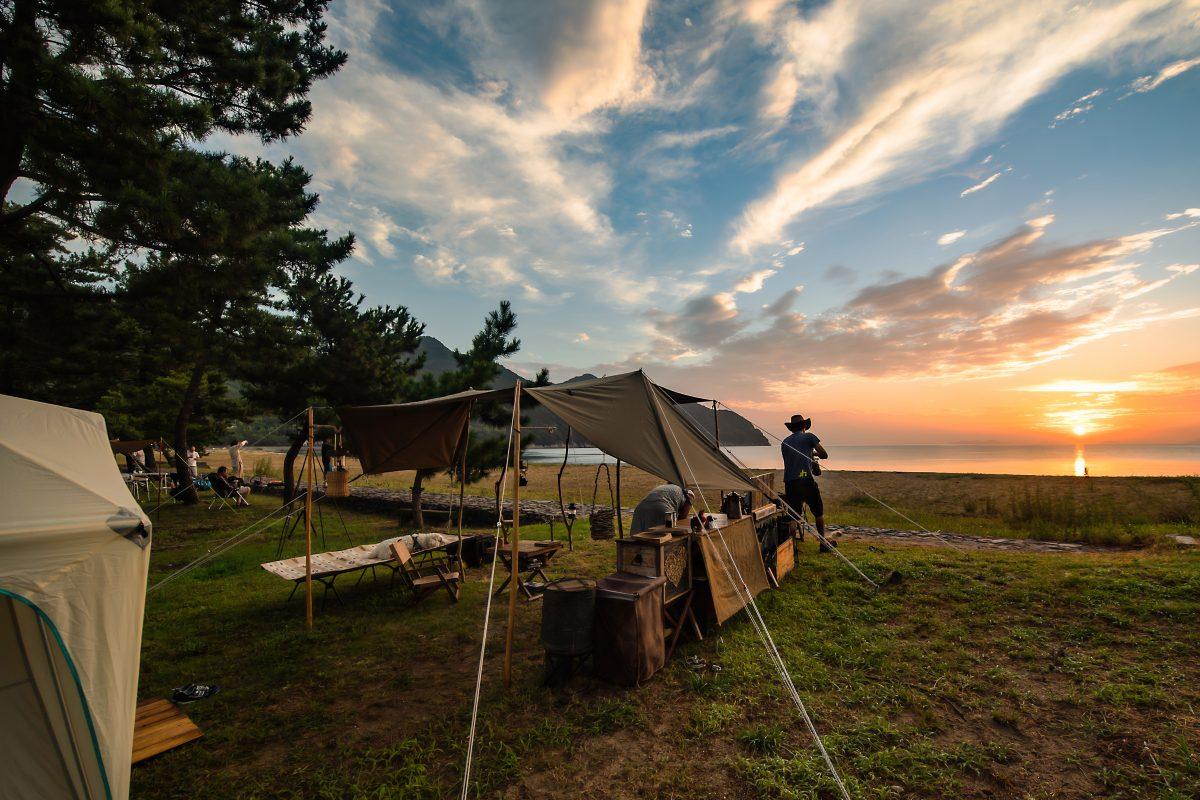 ゆめしま海道の魅力がギュッとつまった、キャンプサイトへ出かけてみませんか?