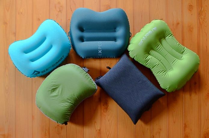 山でぐっすり眠れてる? 登山のお供にしたい「エアー枕」5種類を比べてみました!