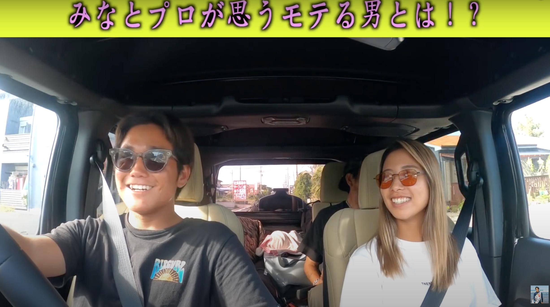 【超必見!】実力と美しさを兼ね備えた高橋みなとと村田嵐によるまさかのドライブデート!?からのサーフセッション