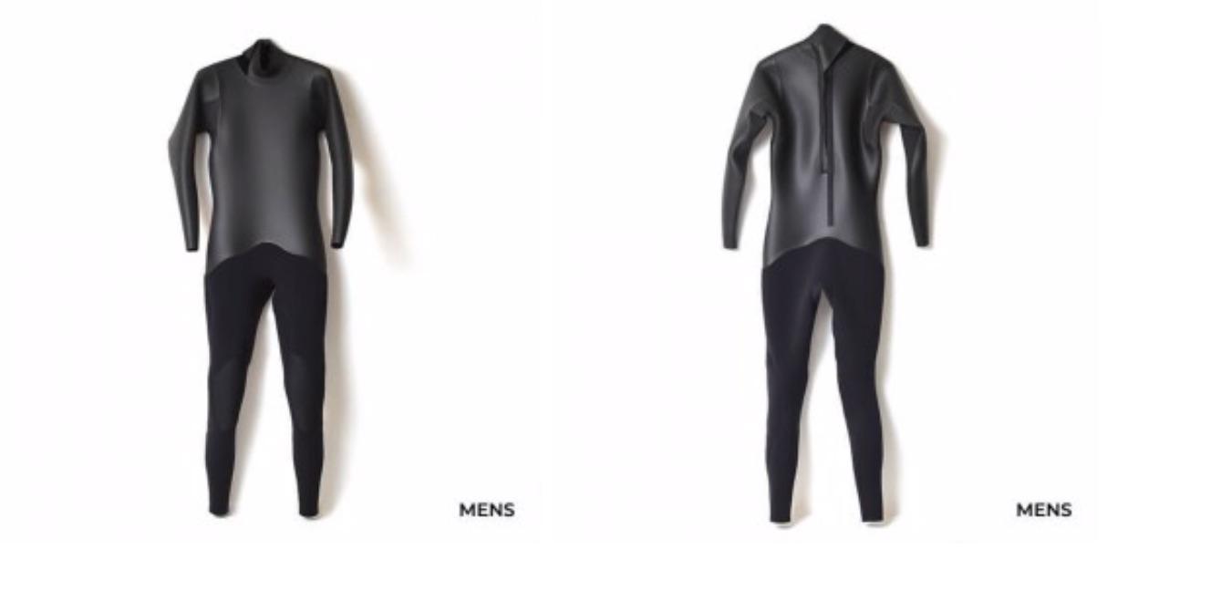 【職人による国産のこだわり】カリフォルニアのクラシックスタイル全開なCRAFTMAN wetsuitsのラバー・オールブラックの3mmフルスーツが29,150円!?