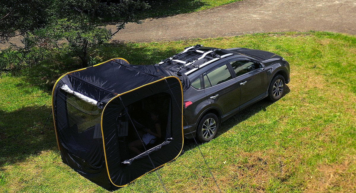 支持率10,000%以上!車中泊の概念を変える最先端のテントがMakuekeに登場