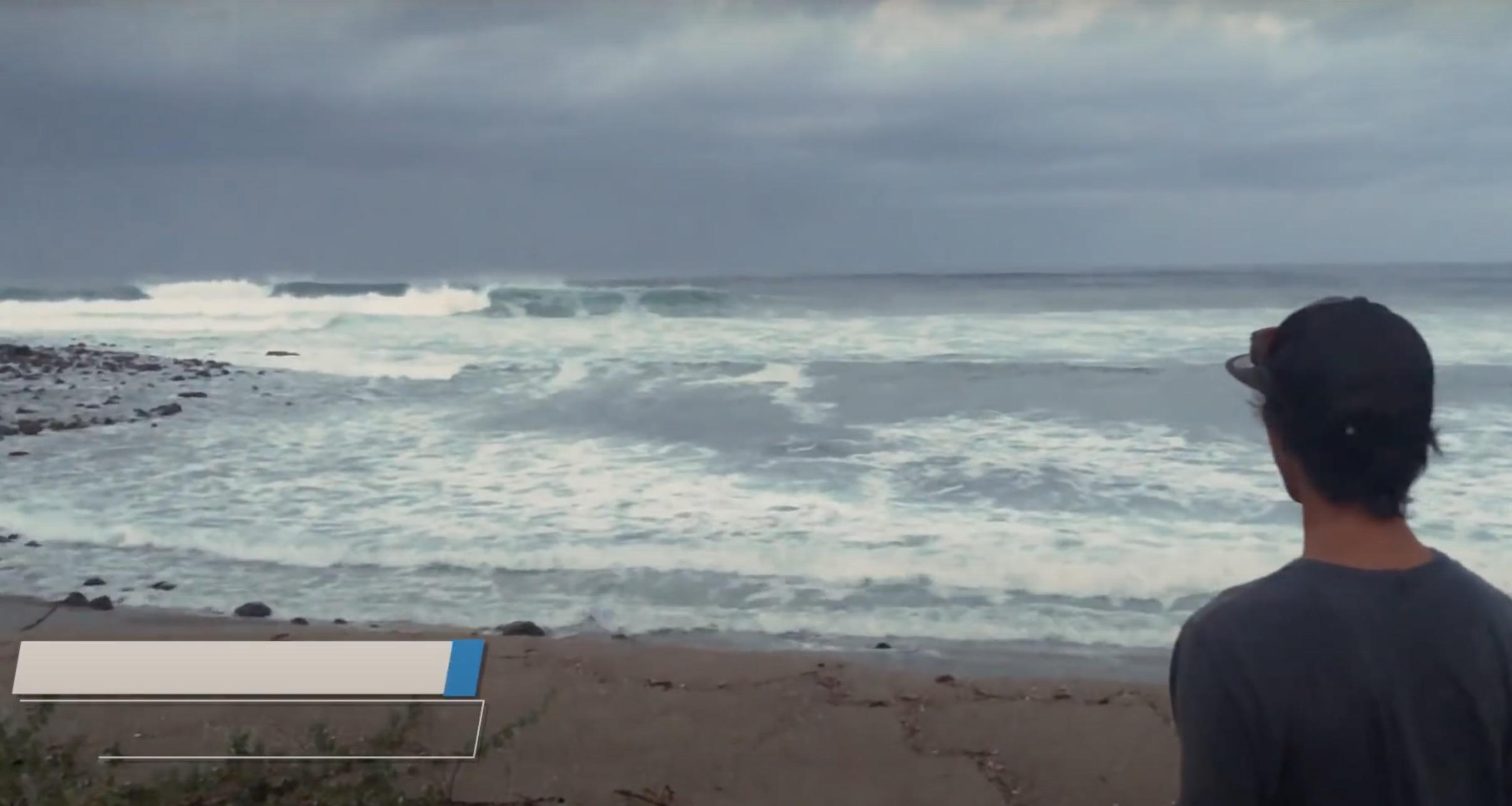 【台風8号】まだ日本にも知られざるこんなに素晴らしい波があった!? 河村海沙が誰も知らない秘境でパーフェクトなロングレフトをスコア!!