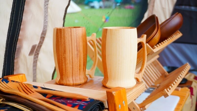 リヴェレットの竹製ビアマグをレビュー | 木製ジョッキで極上のビール♪
