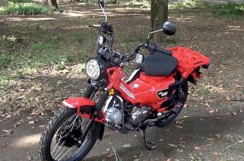 キャンパーにも話題のアウトドア派バイク「ハンターカブ」の魅力とは。