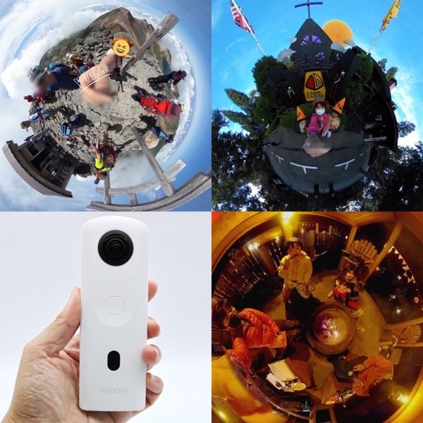 【360度カメラがやっぱりすごい!】キャンプや旅行におすすめ!「RICOH THETA SC2」は簡単できれいに撮れる!