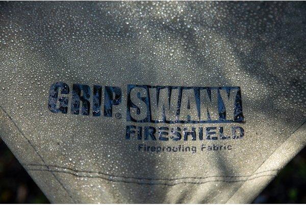【難燃素材】GRIP SWANY(グリップスワニー)のワイルドでブッシュクラフトなソロキャンプにぴったりなテント・タープ!!『ファイヤープルーフ GSテント/GSタープ』がカッコ良い!!
