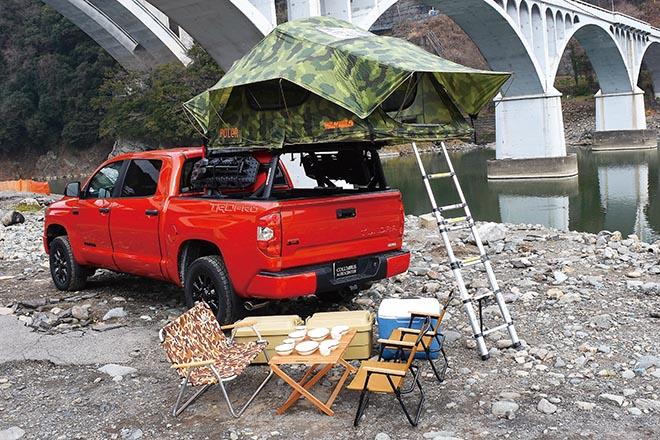 ベース車両はトヨタが放つ生粋のオフローダー【タンドラ TRD PRO】