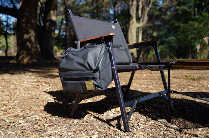 スパイスボックスに調味料を収納!キャンプのキッチン整理整頓!