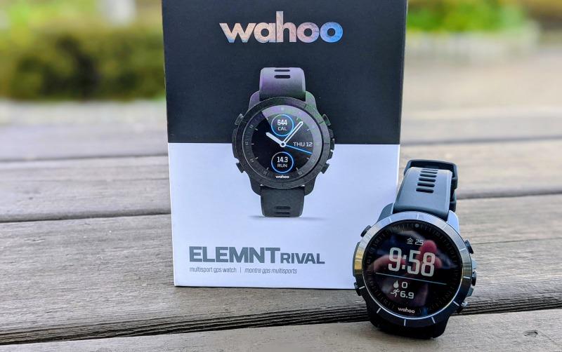 wahoo初のマルチスポーツ対応GPSウォッチ ELEMENT RIVALレビュー