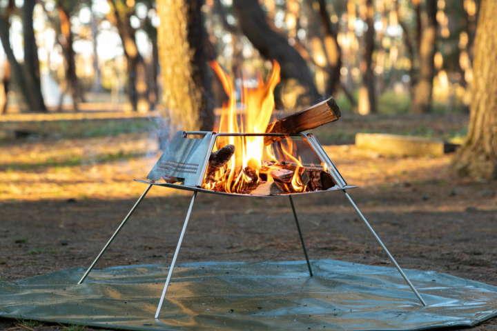 メッシュ火床でよく燃える!調理にも使いやすいプロノドアズ「ファイヤスターター」