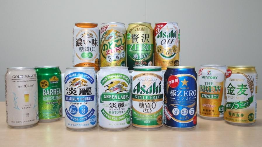 糖質ゼロ/オフビール12商品、1番おいしいのはどれだ?太りたくない人向けの飲み方も栄養士に聞いてみた