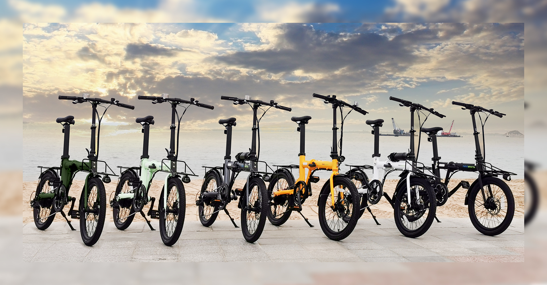 ハイスペックな折りたたみ電動アシスト自転車「naicisports power 2.0」に注目!