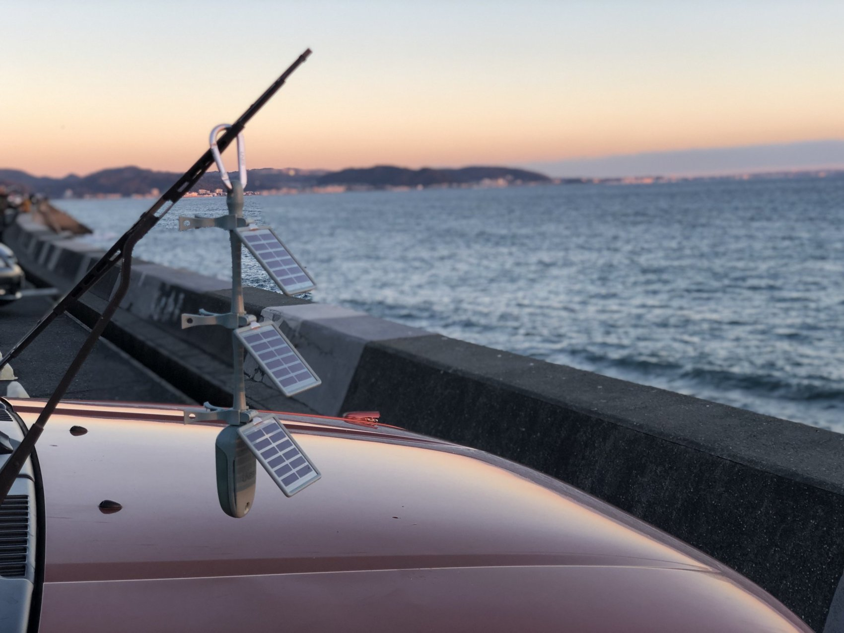 ソーラーカード式デザインデバイス「LNES SL-02」をサーフィンに取り入れてみた