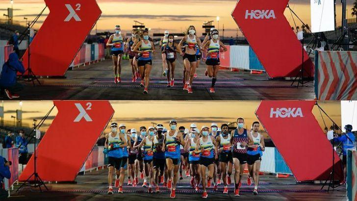 ジム・ウォルムズレーが100kmの世界記録にあと12秒まで迫る・「Project Carbon X 2」リザルト #HOKAONEONE #PCX2