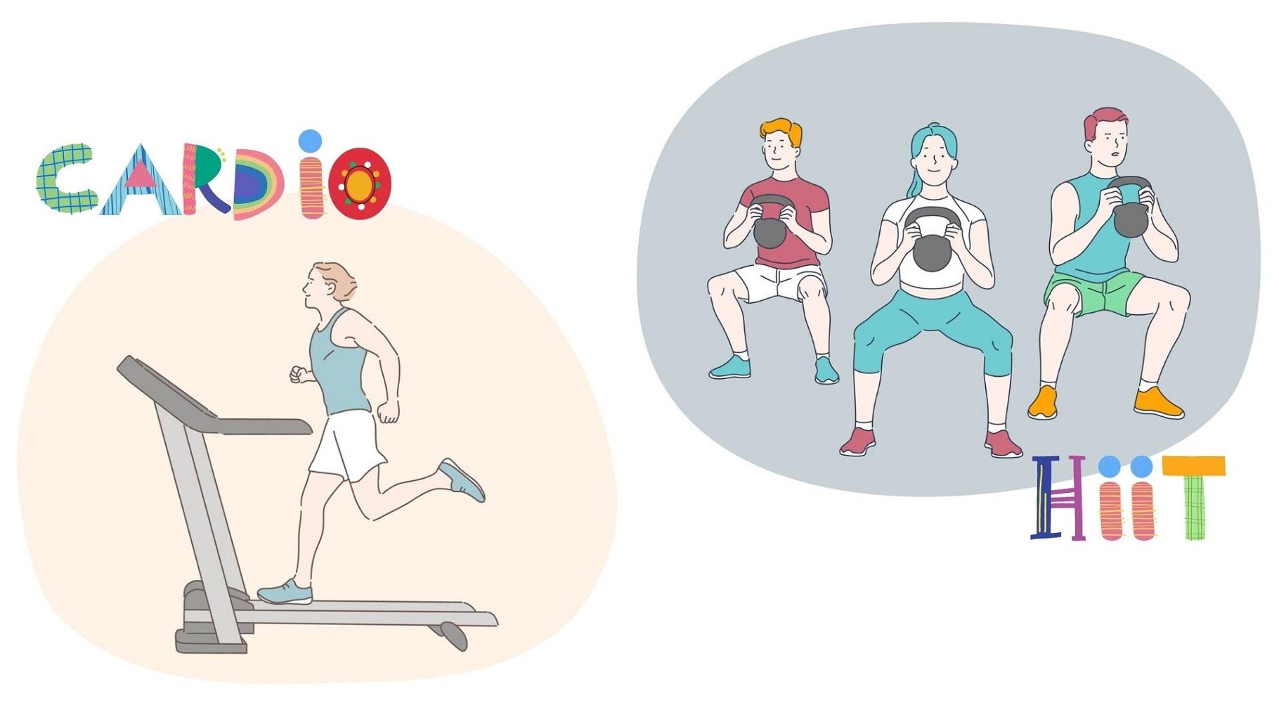 激キツHIITとゆっくり有酸素運動、どっちが痩せる?最新研究から考えてみた