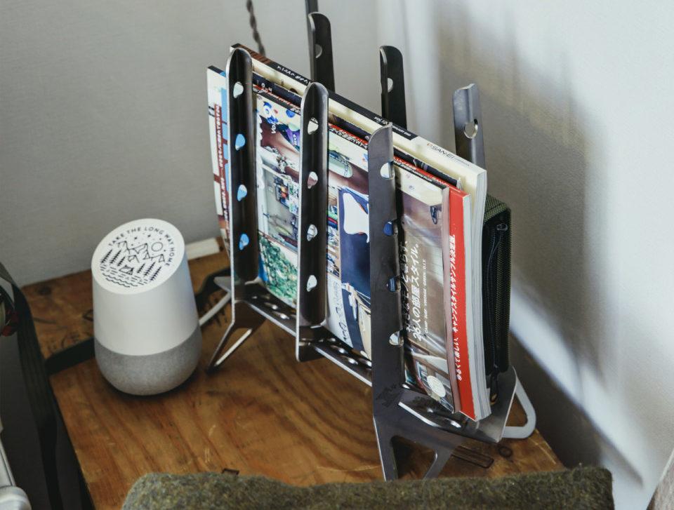 発想の転換! アウトドアギアを活用した、お部屋の収納術5選。