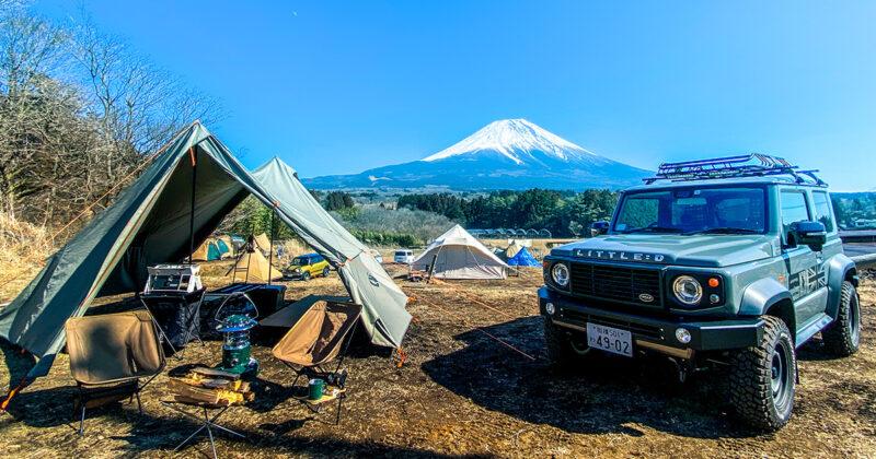 【キャンプレポート】富士ヶ嶺おいしいキャンプ場