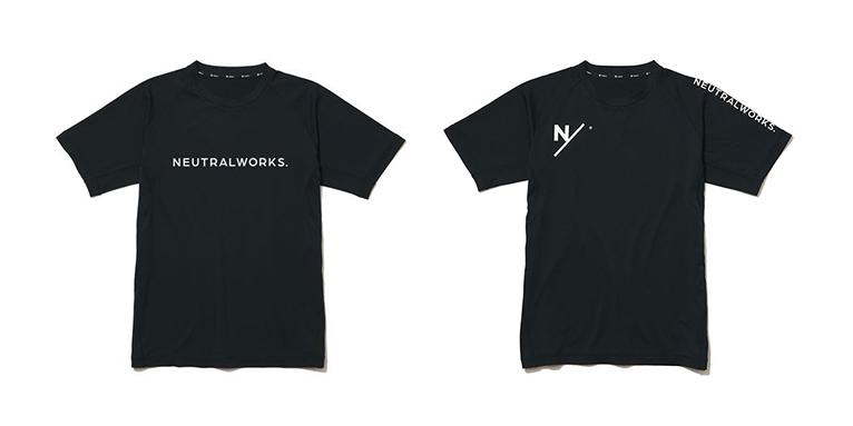 ナイトランにもぴったりな、ニュートラルワークス.とGoldwin(ゴールドウイン)のダブルネームTシャツ。