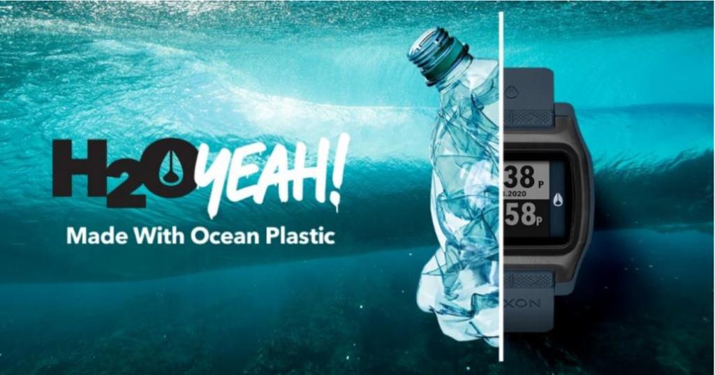 NIXONからリサイクル海洋プラスチックを使用した新作が登場!