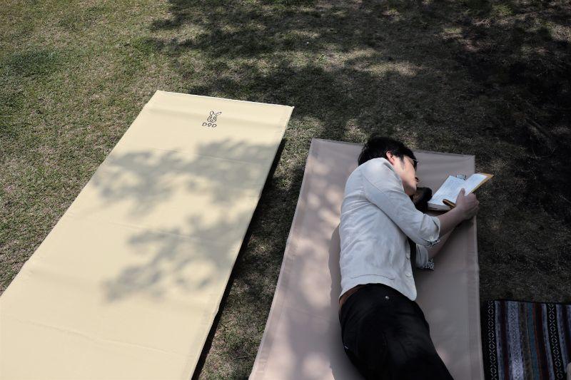 【レビュー】コスパ最強のDODコット「バッグインベッド」でキャンプの夜も快眠◎