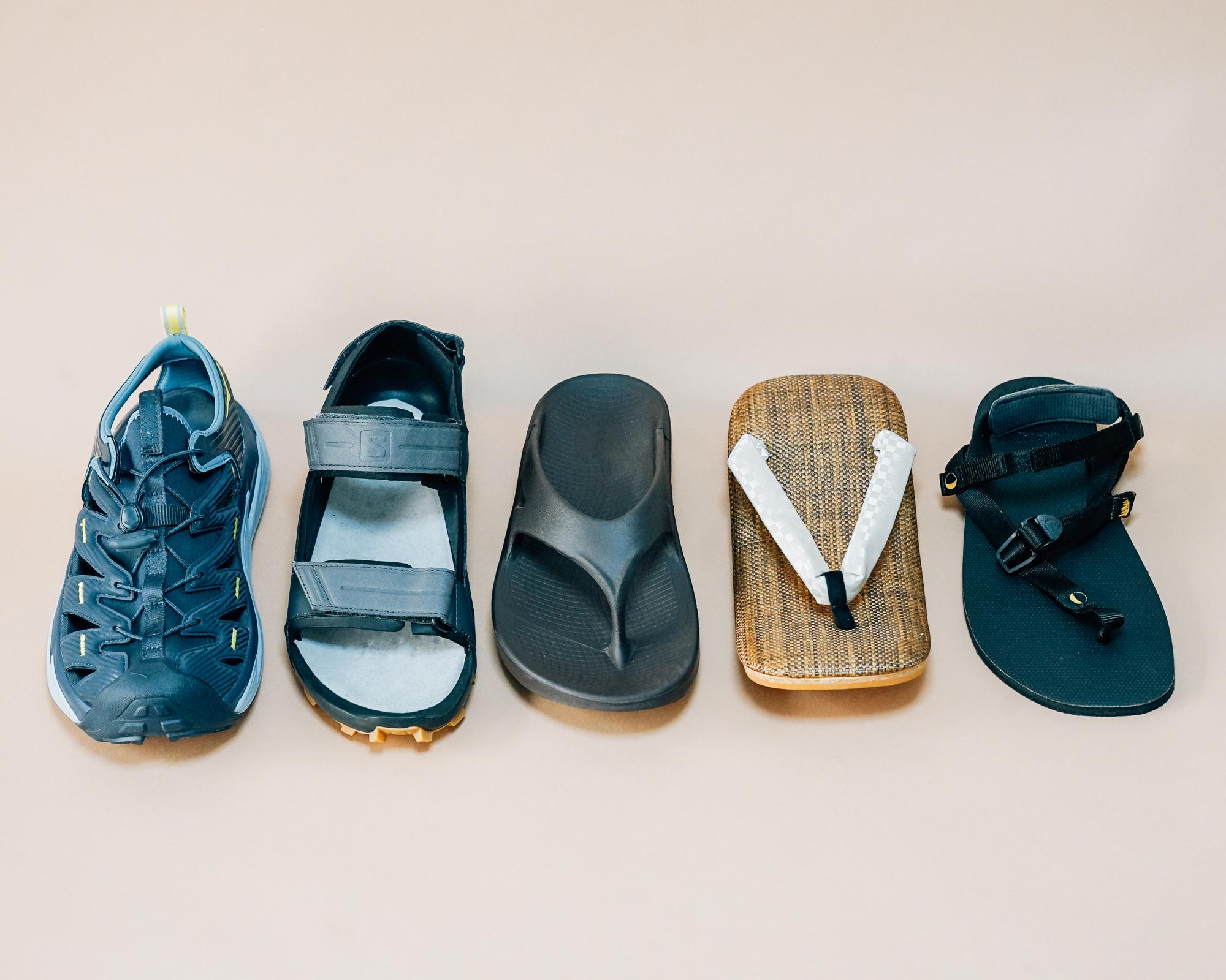 この夏履きたいアウトドア・スポーツサンダル 個性豊かな注目の5足をインプレッション