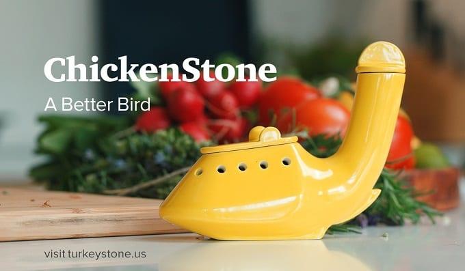 鶏の丸焼きが手早くジューシーに焼きあがる!『Chicken Stone』で美味しいローストチキンを楽しもう