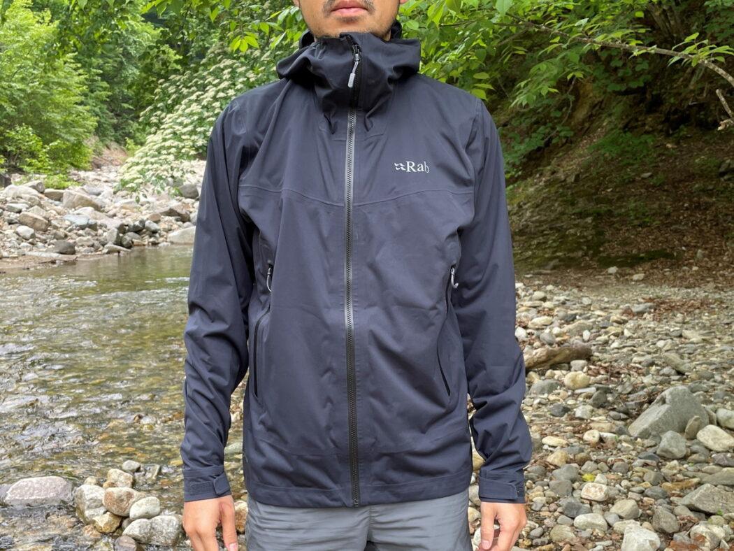 ラブ キネティック2.0ジャケット-透湿性と動きやすさに優れたレインジャケット